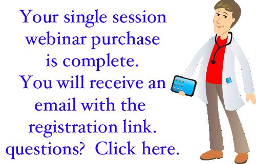 Single Session Webinar