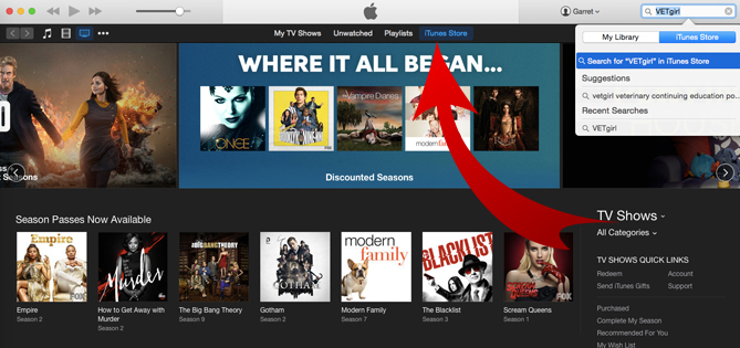 how to get podcast on itunes store
